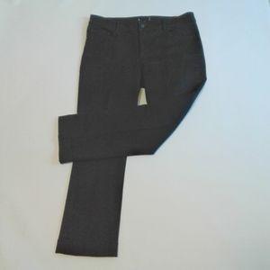 Ann Taylor Kick Crop Black Pants Size 12